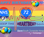72nd anniversary of the NHS